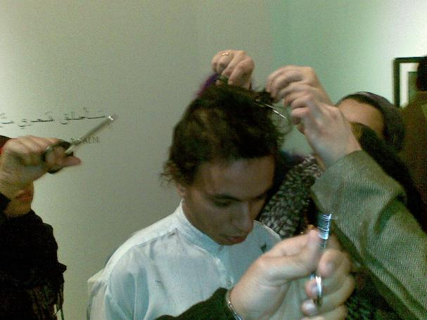 I'll cut my hair again 1